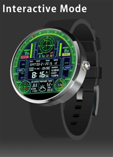 V08 WatchFace for Moto 360 by Smartwatch Bureaux
