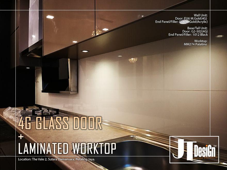 It\'s 4G glass door with HPL worktop.[close look] in 2019 ...