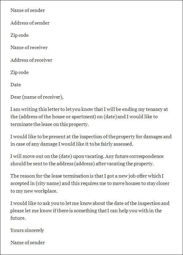 Termination letter sample templates end tenancy template from termination letter sample templates end tenancy template from landlord tenant spiritdancerdesigns Images