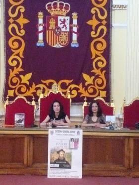 """Las Doctoras María Lara y Laura Lara en la Cátedra """"General Marinas"""" de Melilla http://www.udima.es/es/maria-lara-y-laura-lara-en-melilla.html"""
