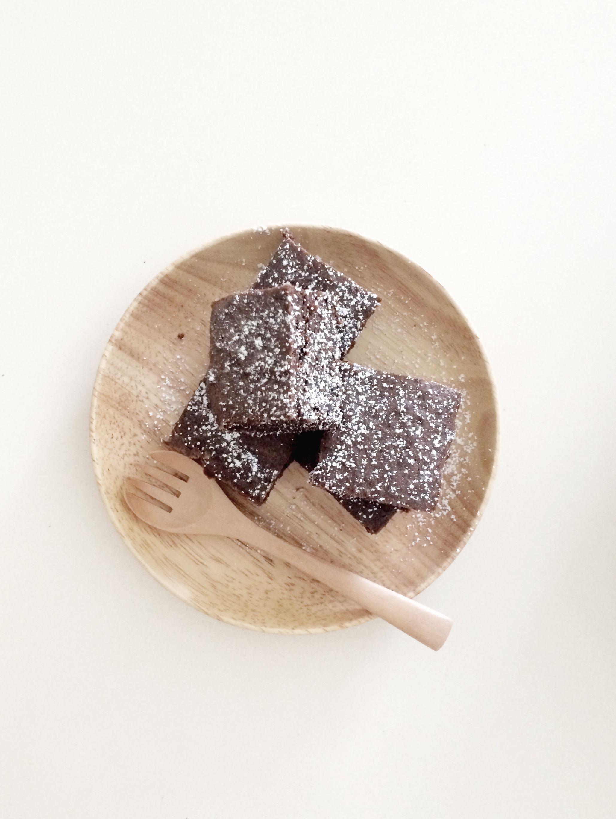 chocOlate & tofu brownies