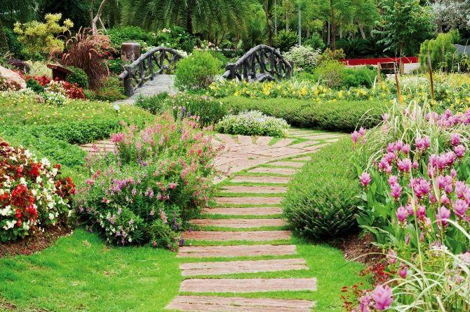 Kwietnik Lawka Kwiaty Kwitnace Drzewa Ogrod Wiosna Shrubs Garden Guide Lawn And Garden