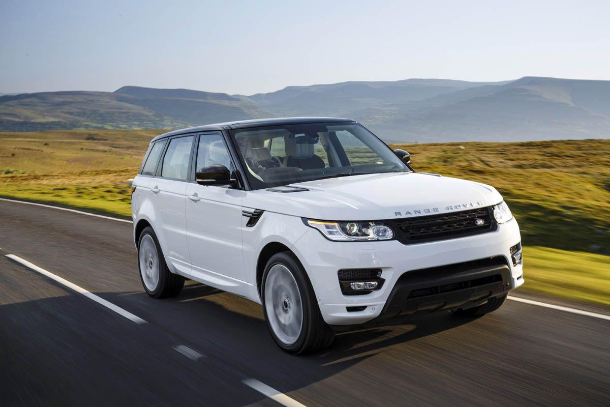 2014 Range Rover Sport HSE White drive Pinterest