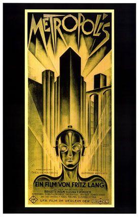 Pin By Zarquon Senecae On Advertisement Art Metropolis Poster Best Movie Posters Metropolis Film