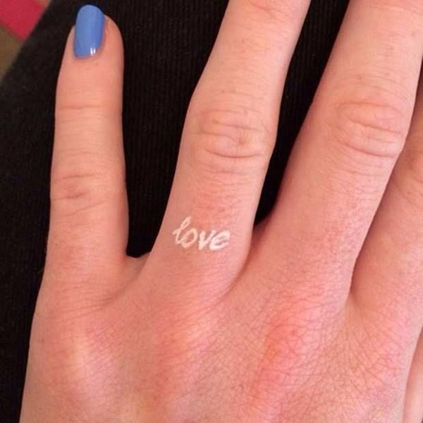 White Wedding Ring Tattoos: Pros And Cons, Design Ideas And Useful