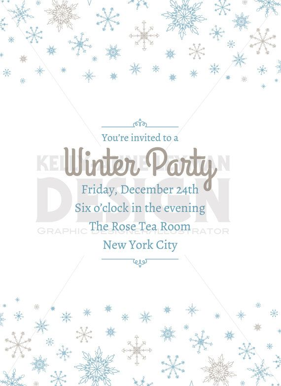 photo regarding Printable Holiday Invitation known as Printable Trip Invitation, Printable Wintertime Invitation