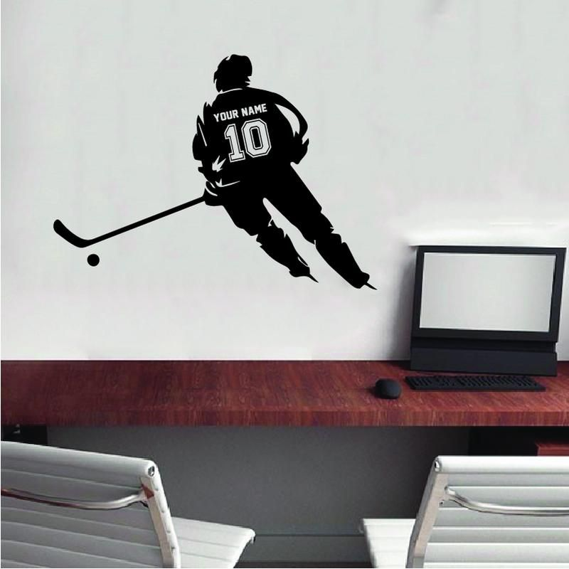 Pin On All Hockey Wall Stickers