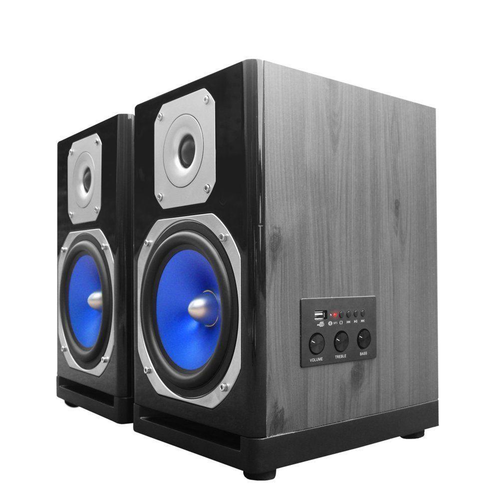 NEW TECHNICAL PRO BLUETOOTH WIRELESS 600 WATTS USB STUDIO DJ MONITOR ...