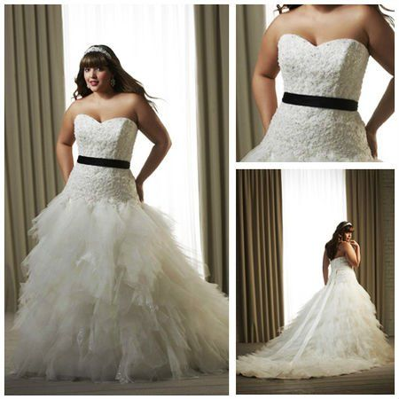 Free Shipping!!! MWP1010 Dramatic Tulle Pleated Beaded ...