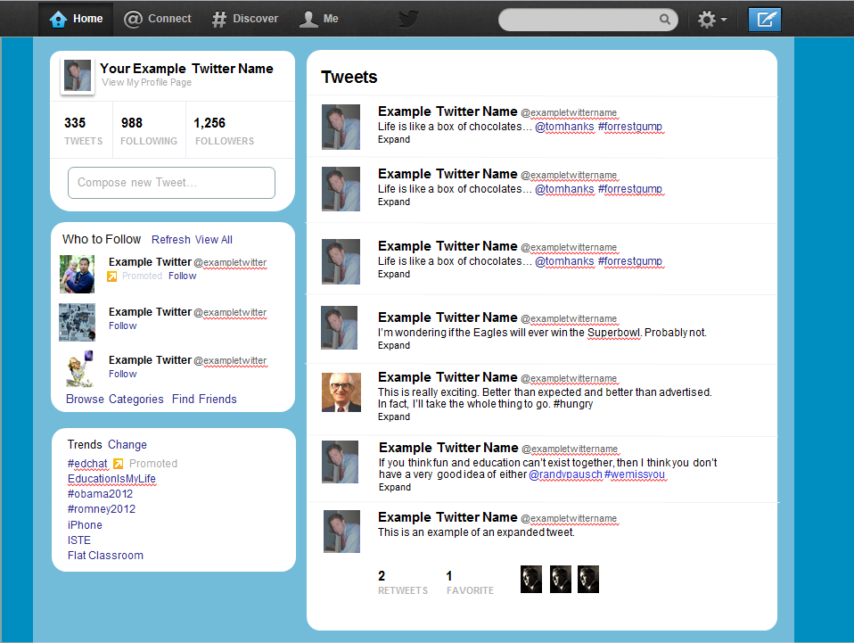 twitter ppt template for students great for literary characters