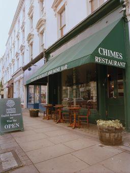 Chimes cider bar near Victoria Station. 26 Churton Street, Pimlico, London SW1V 2LP