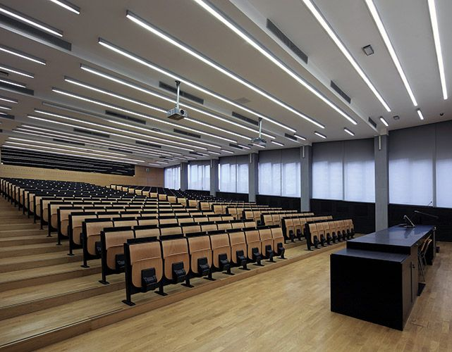 Lecture Hall Architectural Lighting Inspiration