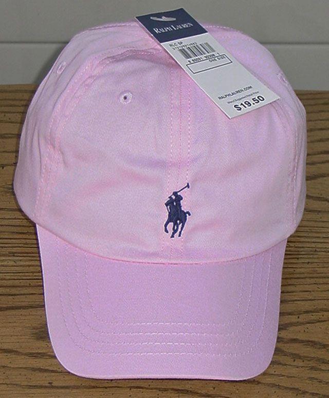 ac855fe25ffbb girls in baseball caps | RALPH LAUREN POLO GIRLS PINK / NAVY BASEBALL CAP  ONE SIZE 7 - 16 NWT