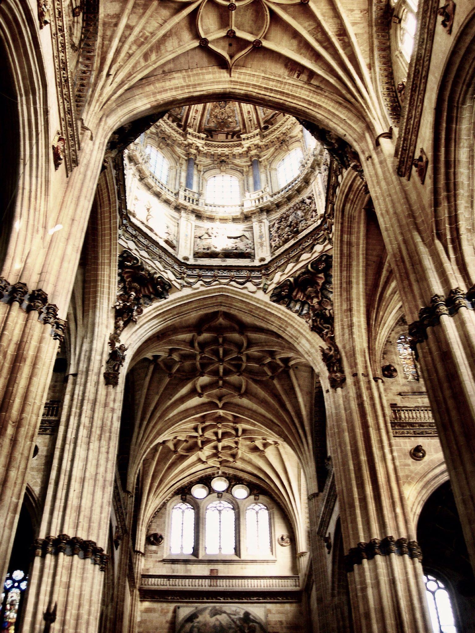 Interior De La Catedral De Salamanca Salamanca Spain Barcelona Cathedral Cathedral Salamanca