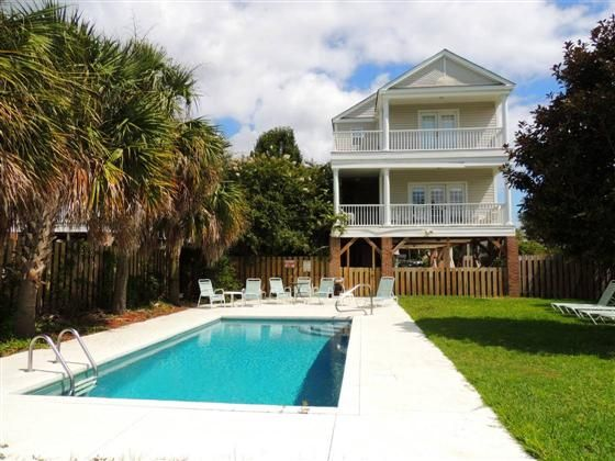 Carolina Nestled Is Six Bedroom, Four Bath Beach Home Located Miles North  Of Garden City Pier, And A Short Walk (three Minutes) To The Beach.