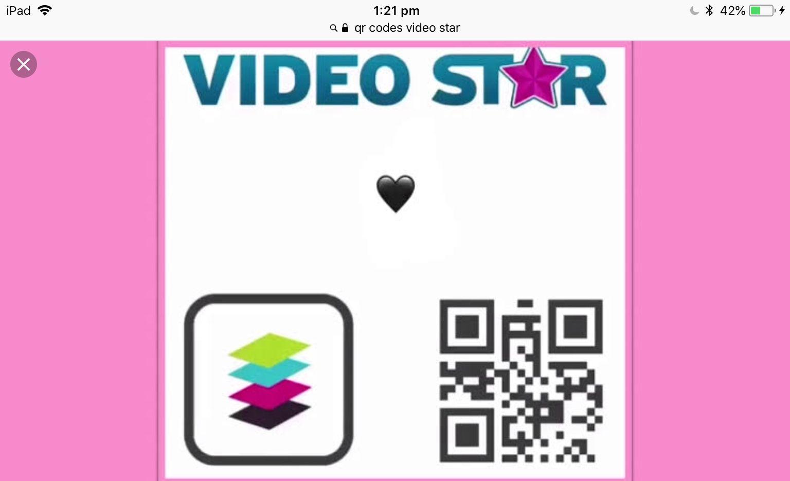 Video Star Emoji Qr Code Coding Instagram Editing Star Emoji