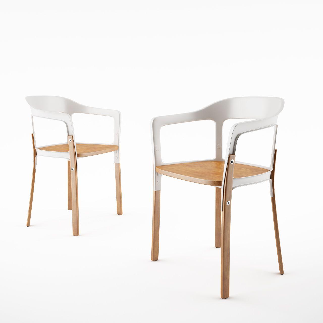 Nice Steelwood Chair By Magis