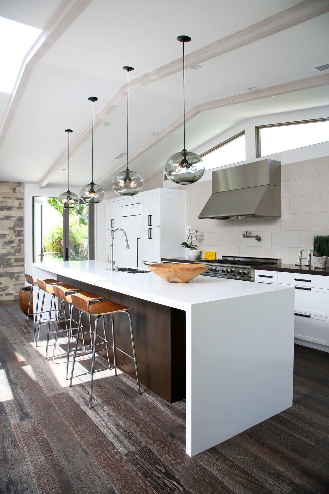 10 Open Kitchen Solutions That Will Get Things Cooking Kitchen Island Lighting Modern Kitchen Island Lighting Contemporary Kitchen Island