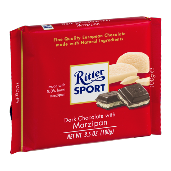 I'm learning all about Ritter Sport Dark Chocolate with