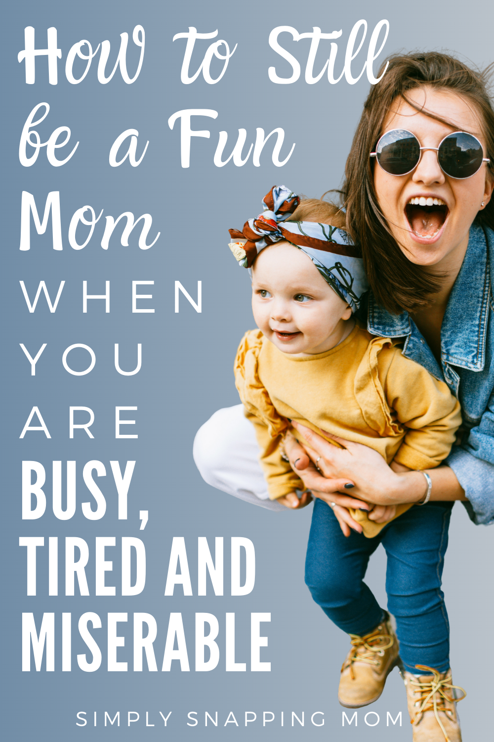 Photo of Moms are humans, too. Sometimes we are busy, stressed, tired, and frankly misera…