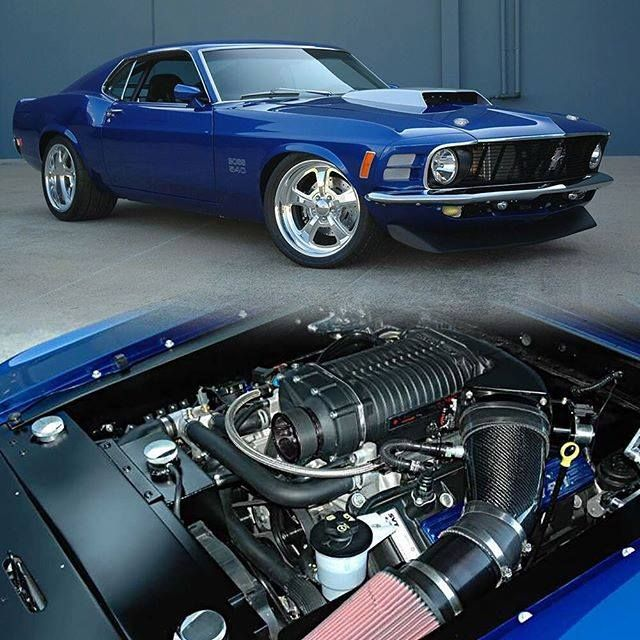 1970 Mustang Boss 540
