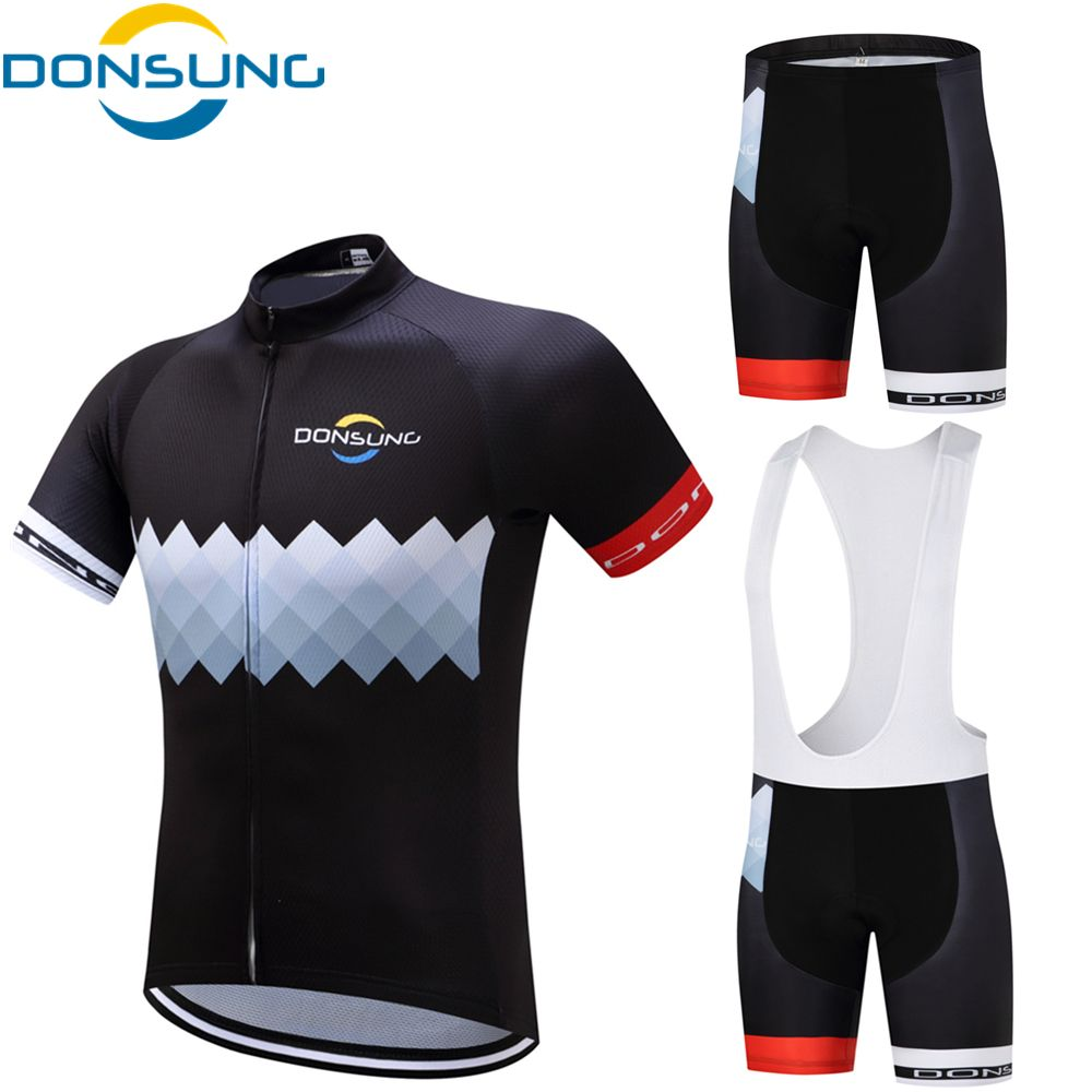 Cycling Jersey Sets 2017 Pro Team Men MTB Bicycle Cycling Clothing Short  Sleeve Cycling Sets With 4339506a2