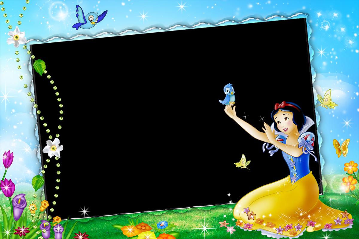 Marcos hermosos para niñas de Blancanieves - Princesas Disney ...