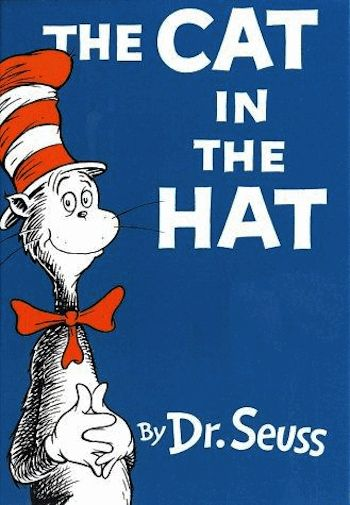Dr Seuss The Cat In The Hat 1957 Childhood Books Childrens Books The Hat Book