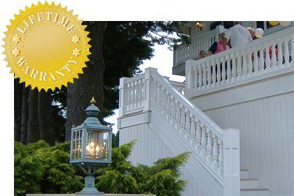 Best Fences Made Out Of Azek Vinyl Railing Porch Deck 400 x 300