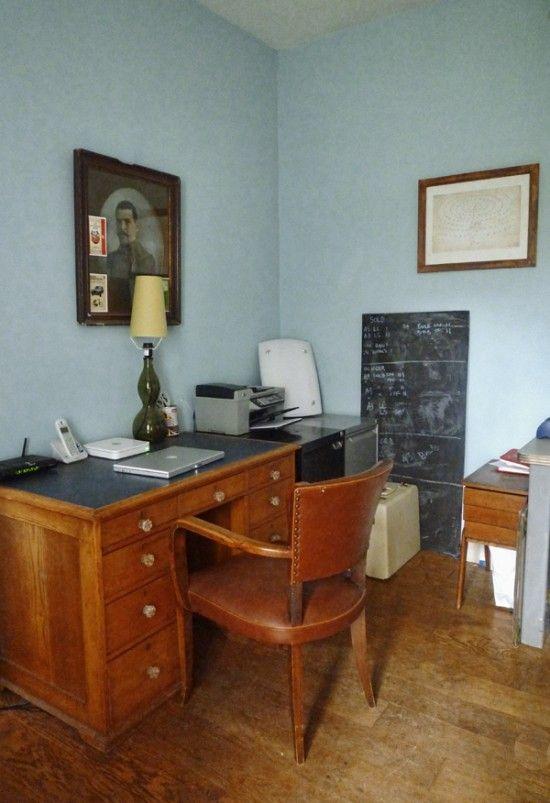 Mid-century vintage office