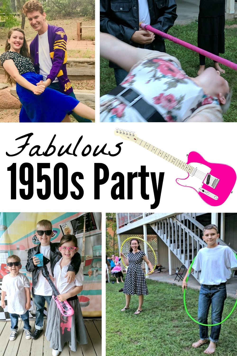 f36bb3b4f88d6 Throwing a 1950s theme party is so much fun (and so easy)! Check out all  the details like where to get 1950s party supplies and decorations, what to  wear, ...