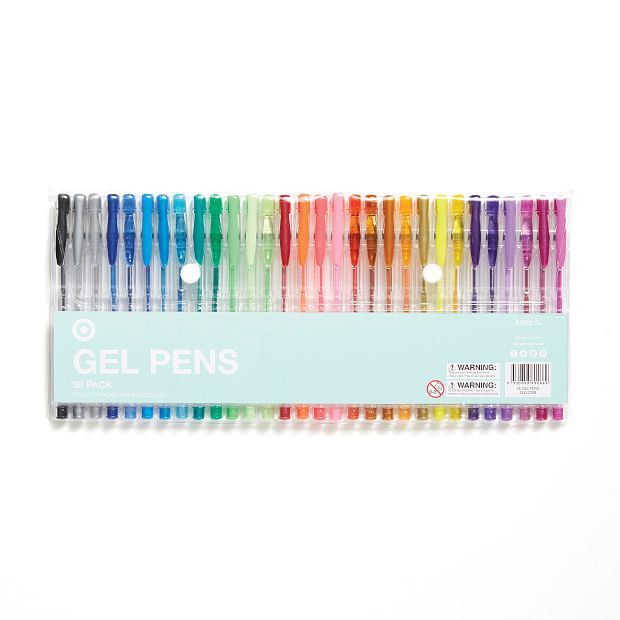 Target Gel Pens 30 Pack Gel Pens Crafts Cute Stationary