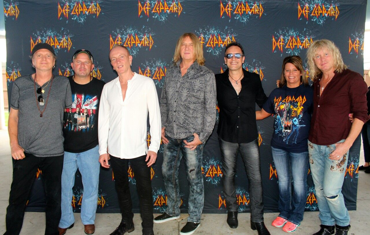 Def Leppard Meet And Greet Image Collections Greetings Card Design