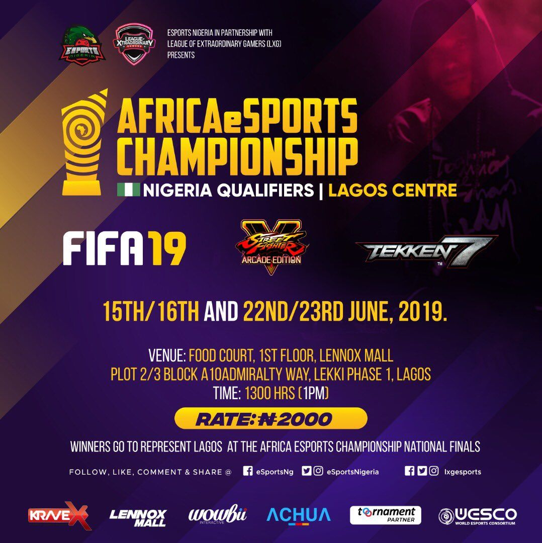 Lagos eSports Nigeria has revealed date for African