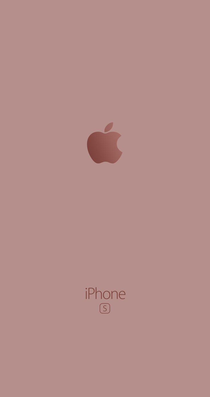 Fond Decran Apple Rose Gold