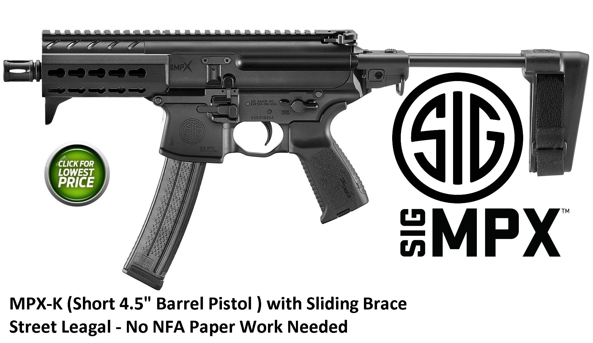 Pin by Fountain Firearms on Sig Firearms | Hand guns, Sig sauer, Sig mpx