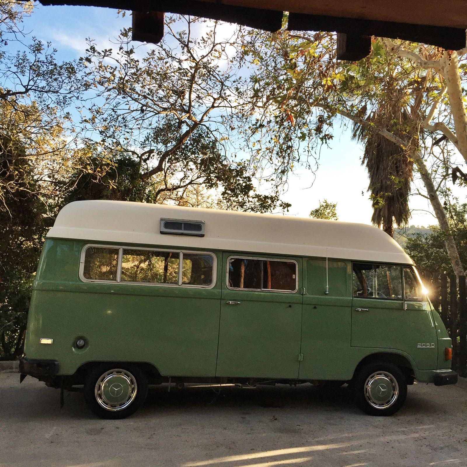 10 10D Hanomag Camper  Mercedes benz vans, Mercedes camper