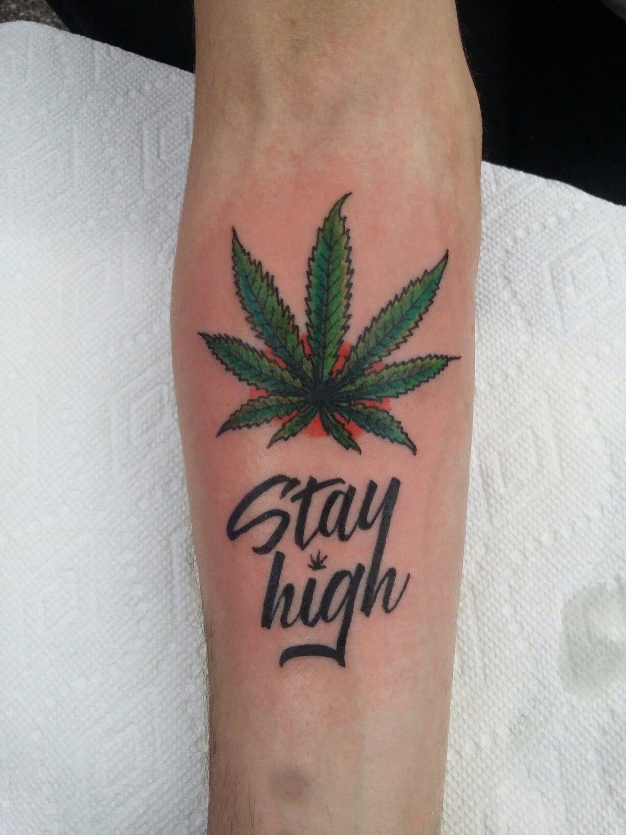 Tattoo Weed Leaf Jidileafco