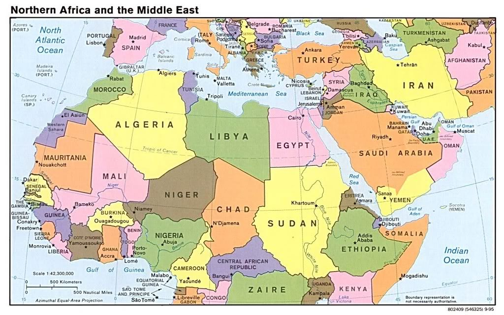 North East Africa | The Great Continent of Africa | Middle east