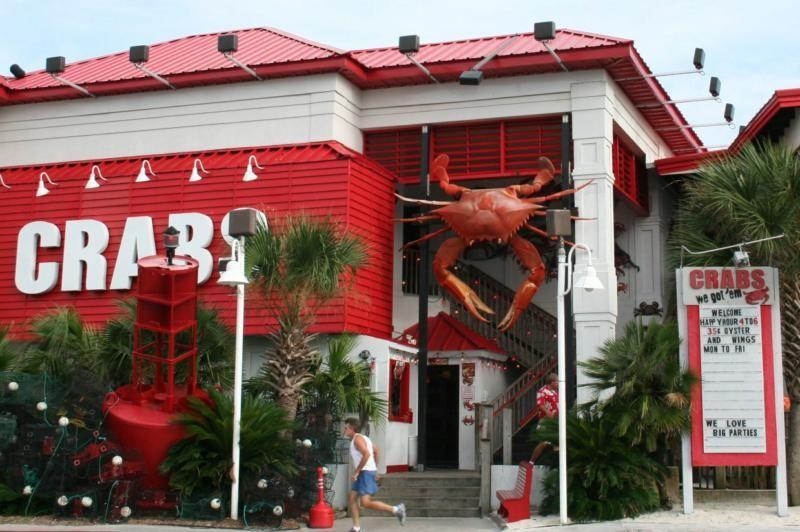 Pensacola Beach Restaurants Bing Images Crabs We Got Em