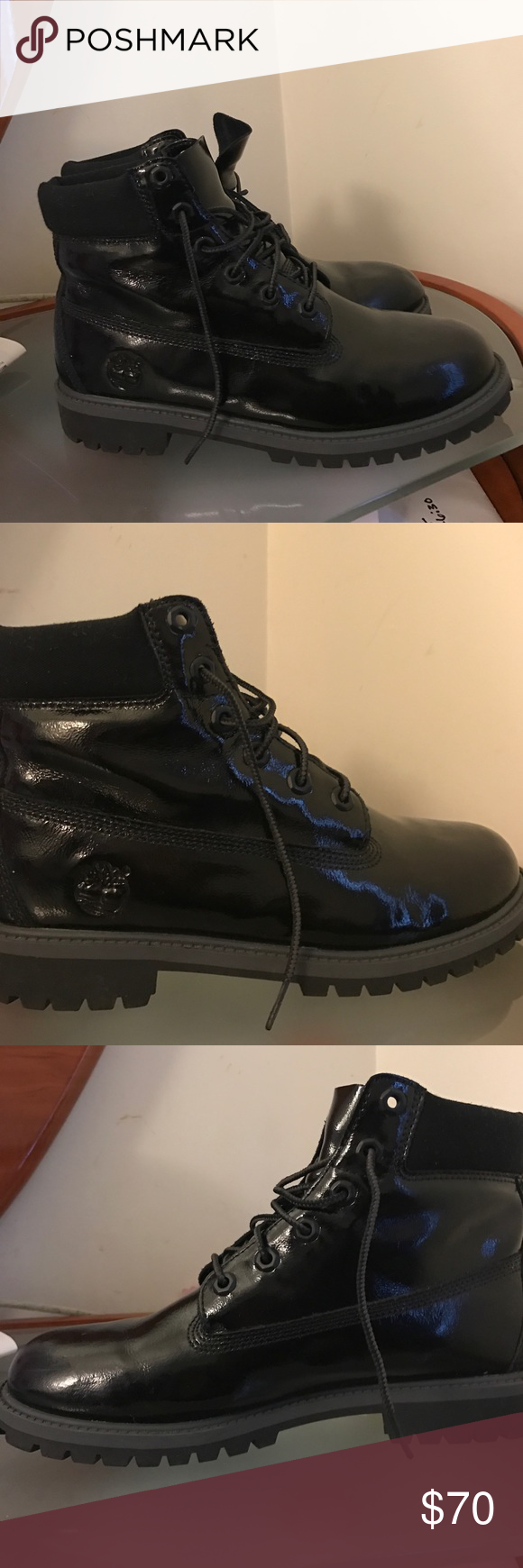 💥Timberland Boots Patent Leather
