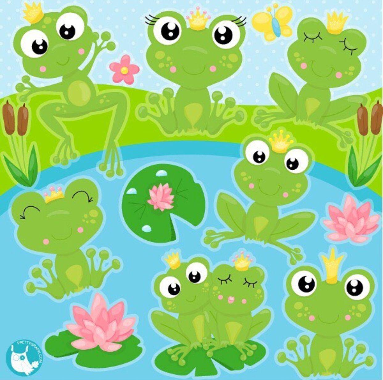 Znalezione obrazy dla zapytania: żaba clipart