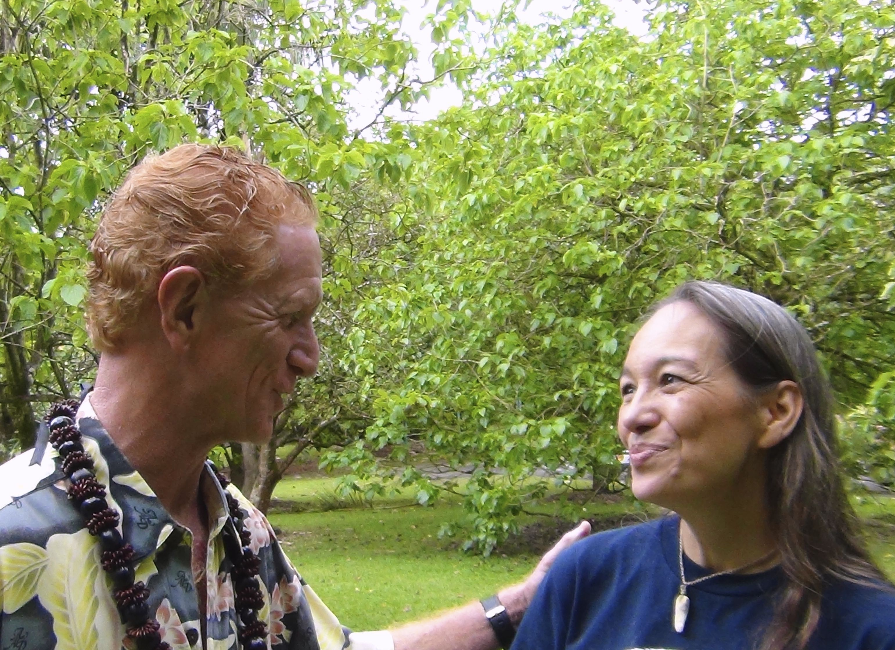 Law Of The Splintered Paddle - A Visit With Laulani Teale