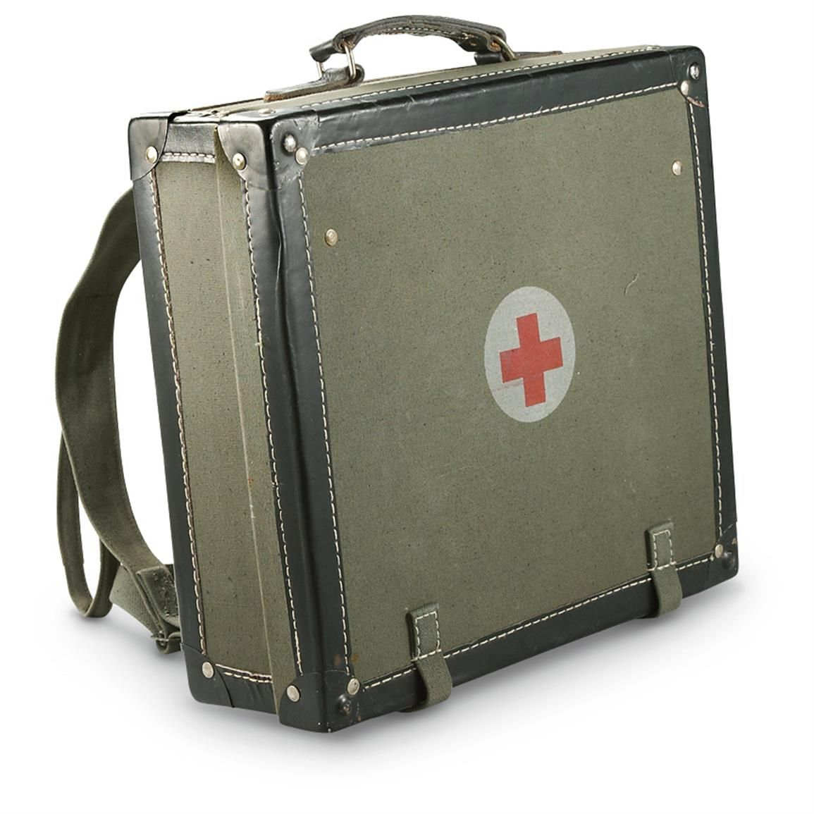 New Serbian Military Surplus Medical Hard Case No Need Use At All For This Can Be Thought Of Time Blast