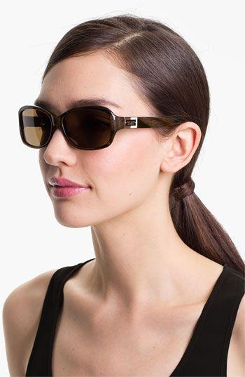 fa3cdbfded Women s kate spade new york  annika  56mm polarized rectangular sunglasses  - Brown