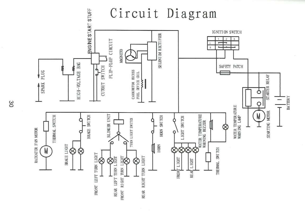Cdi Circuit Diagram Motorcycle and Honda Cdi Box Wiring