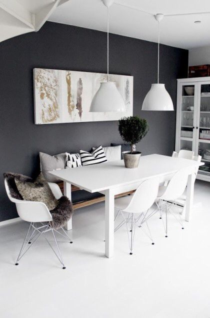 Diese Farbkombi Ins Schlafzimmer: Weiße Möbel Und Grau Blaue Wände