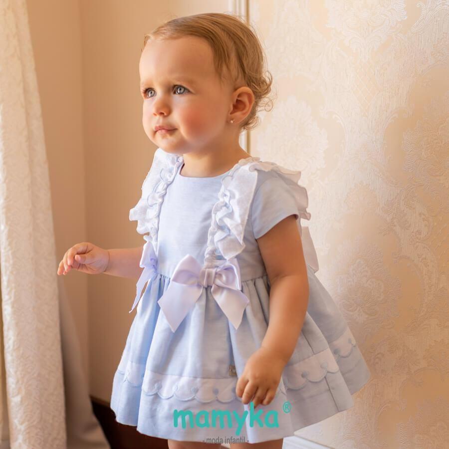 49e435052 Vestido bebé niña, primavera 2019. Colección Anemona   Dolce petit ...