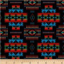 Tucson Blanket Black Cotton Crafts Fabric Timeless Treasures