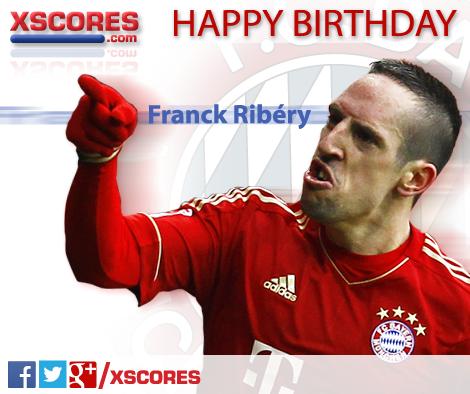 Happy Birthday Franck Ribery Fcbayern Ribery Soccer Baseball Cards Franck Ribery